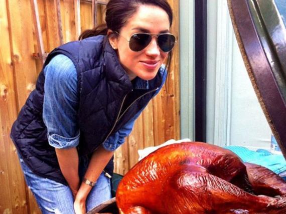 Diesen Truthahn tischte Meghan Markle ihren Gästen im letzten Jahr an Thanksgiving auf