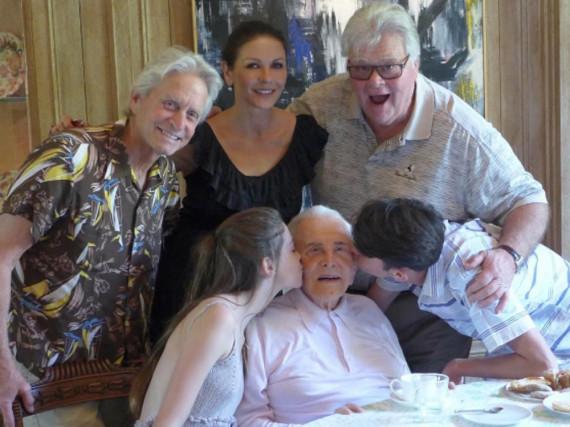 Hatten offensichtlich ein wunderbares Thanksgiving: die Douglas-Familie
