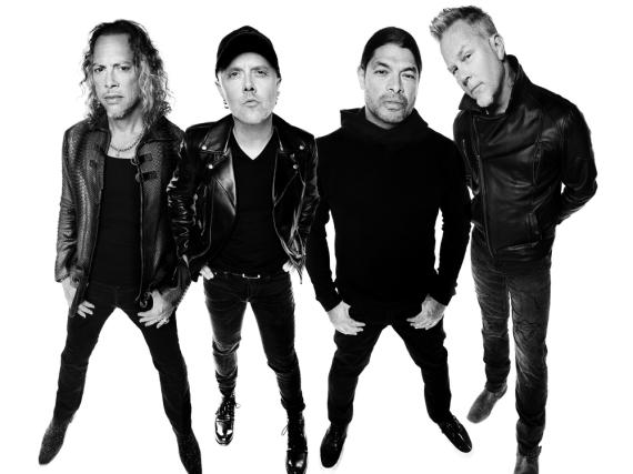 Haben gerade ihr achtes Nummer-eins-Album veröffentlicht: Metallica