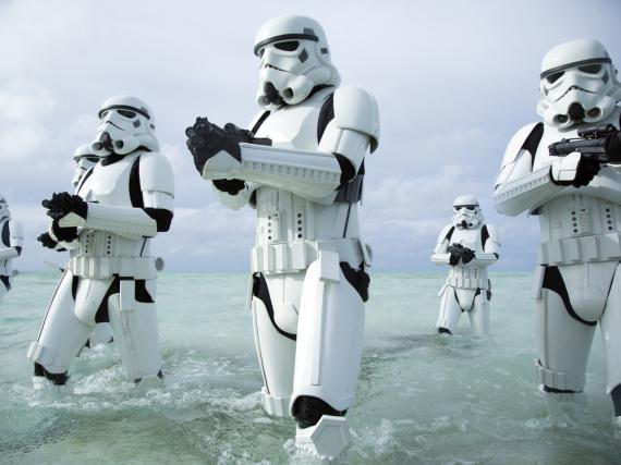 Die Sturmtruppen des Imperiums sorgen auch in