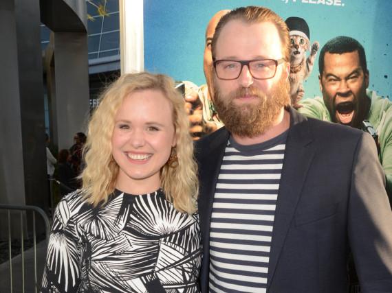 Alison Pill und Joshua Leonard auf einem Event in Los Angeles