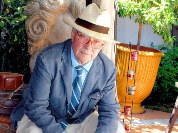 David Hamilton - fotografiert im Jahr 2006 auf Saint Tropez