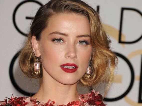 Schauspielerin Amber Heard appelliert an Opfer häuslicher Gewalt