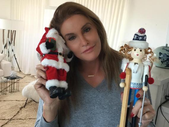 Caitlyn Jenner ist in Weihnachtsstimmung