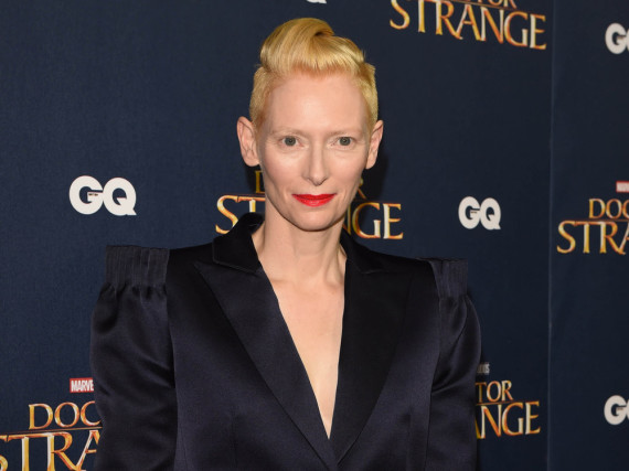 Tilda Swinton ist momentan in
