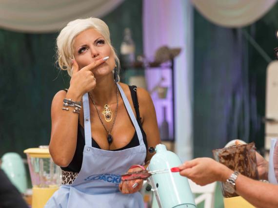 Sophia Wollersheim in der Sat.1-Show