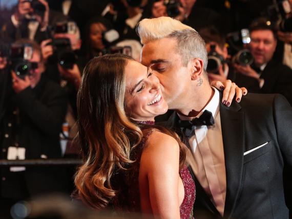 Gehen mit dem Thema Sex sehr offen um: Robbie Williams und Ayda Field