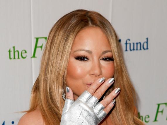 Scheint das Küssen nicht verlernt zu haben: Mariah Carey