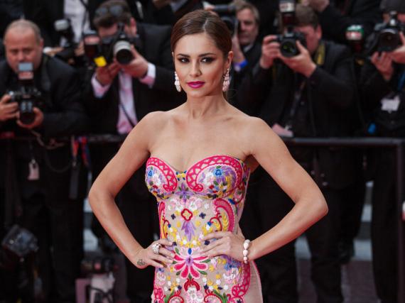 Im Mai dieses Jahres zeigte sich Cheryl Cole noch gertenschlank in Cannes