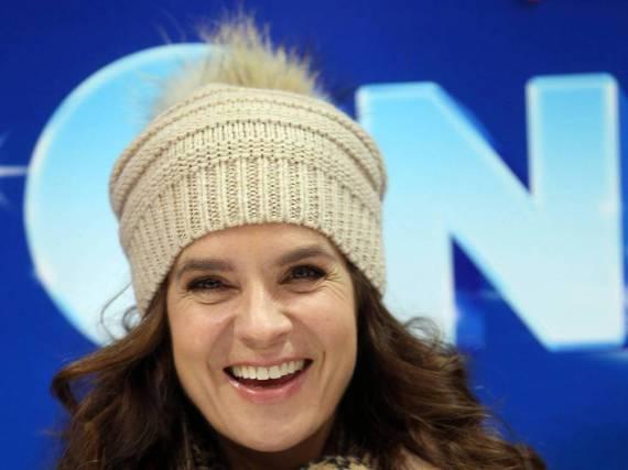 Katarina Witt ist zweifache Olympiasiegerin