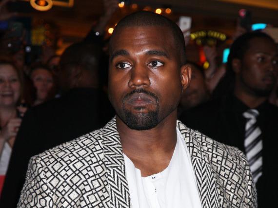Nach dem Zusammenbruch wieder zuhause: Rapper Kanye West