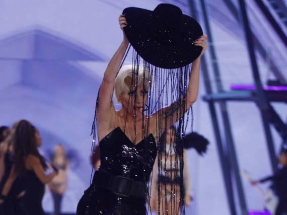 Lady Gaga hat sich für die