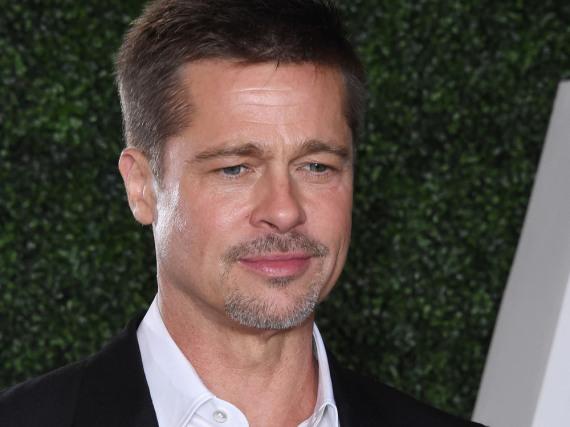 Brad Pitt bei der Premiere des Films