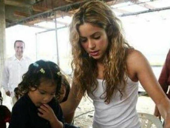 Shakira hat die Stiftung
