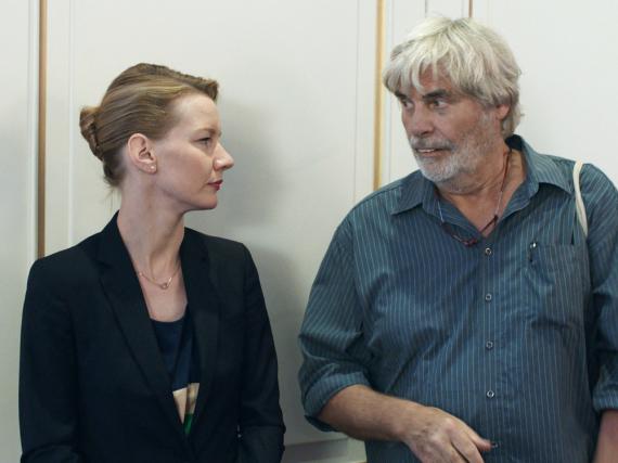 Sandra Hüller und Peter Simonischek in