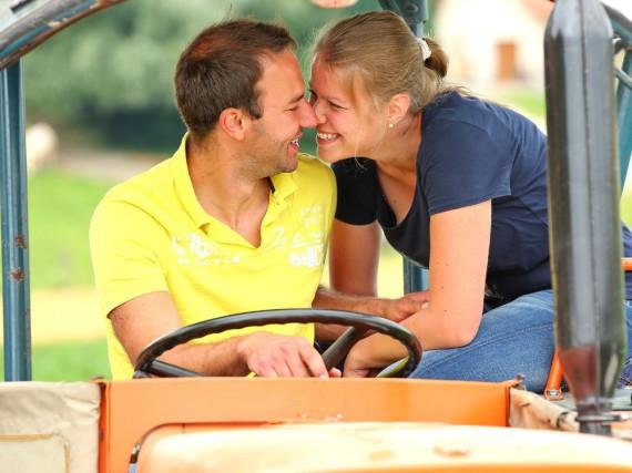 Christian und Barbara aus Niederbayern haben sich bei