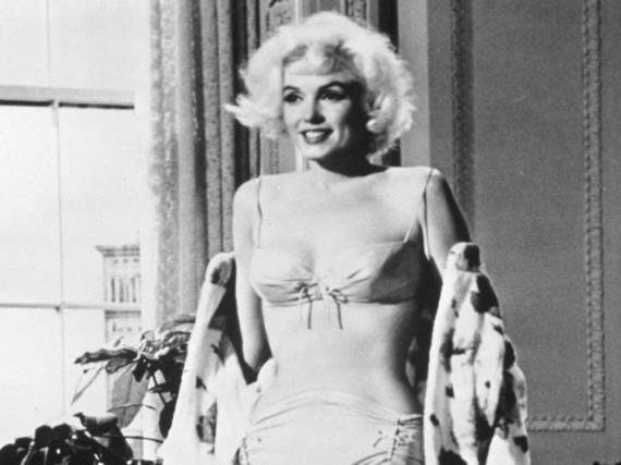 Marilyn Monroe in einer Szene von
