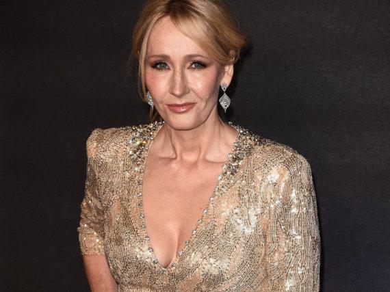 J.K. Rowling bei der Europa-Premiere von