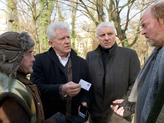 Miroslav Nemec (l.) und Udo Wachtveitl im Weihnachts-