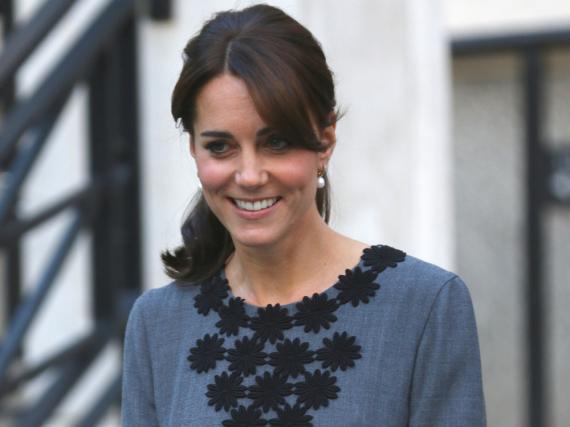 Die Menschen lieben Herzogin Kate