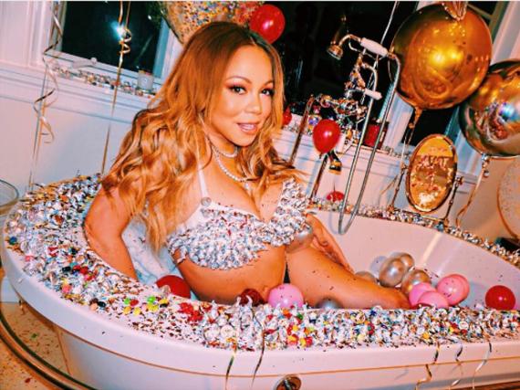 Mariah Cary hat sich zum Valentinstag für ihren Freund Bryan Tanaka in Schale geworfen