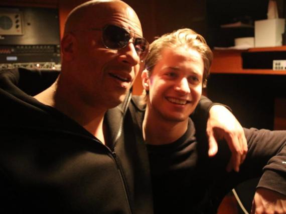 Vin Diesel (l.) ist ein großer Fan von Kygo - dabei ist er fast doppelt so alt