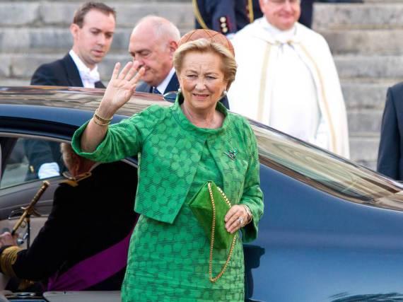 Paola von Belgien im Jahr 2013