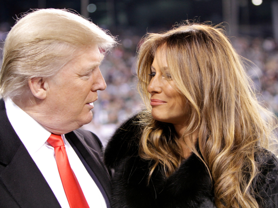 Donald und Melania Trump: Unterschiedlicher könnten beide nicht mit dem Druck umgehen