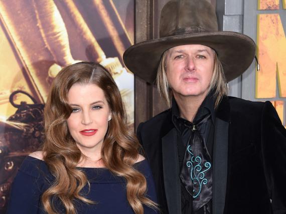 Waren zehn Jahre verheiratet: Lisa Marie Presley und Musiker Michael Lockwood