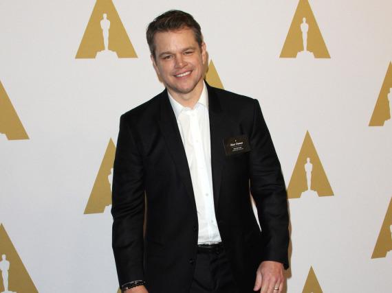 Ob Matt Damon über seinen Kinoflop