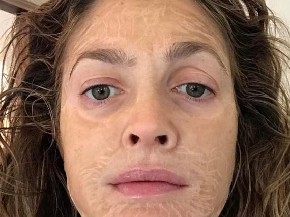 Drew Barrymoore zeigt sich ganz ungeniert auf Instagram