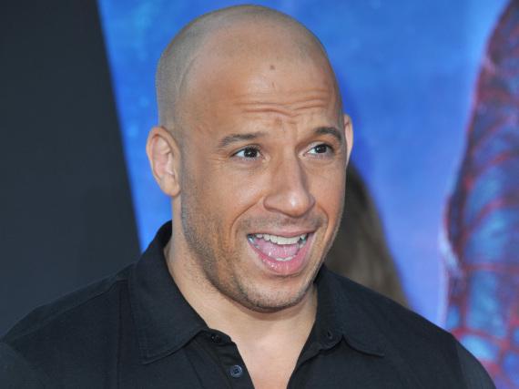 Vin Diesel bei einer Filmpremiere in Hollywood