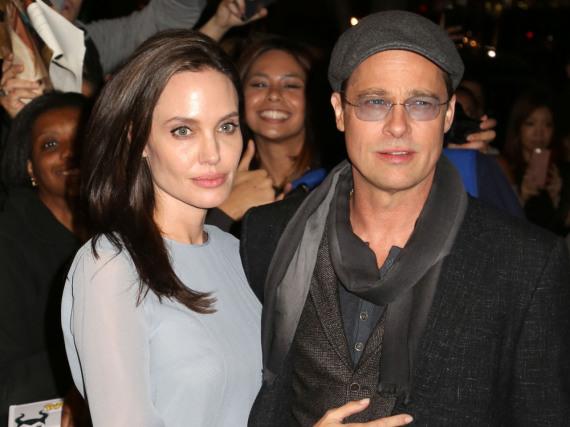 Angelina Jolie und Brad Pit bei einem ihrer letzten Auftritte als Paar