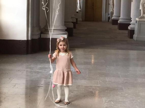 Prinzessin Leonore wird drei Jahre alt