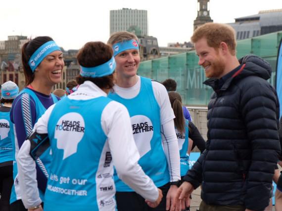 Prinz Harry gab den Running-Coach