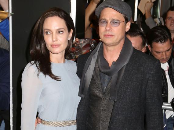 Hier war die Welt noch in Ordnung: Angelina Jolie und Brad Pitt bei einem ihrer letzten öffentlichen Auftritte 2015