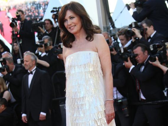 Iris Berben bei den Filmfestspielen in Cannes