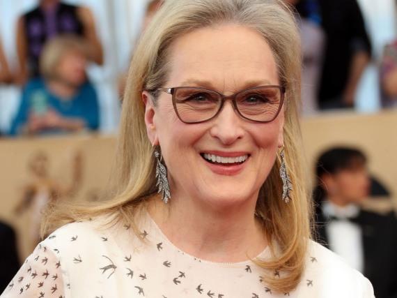 Meryl Streep bei den SAG Awards 2017 in einem Kleid von Valentino