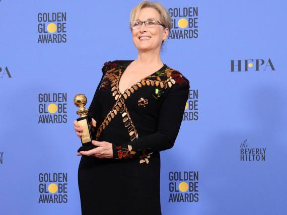Meryl Streep bei den Golden Globes