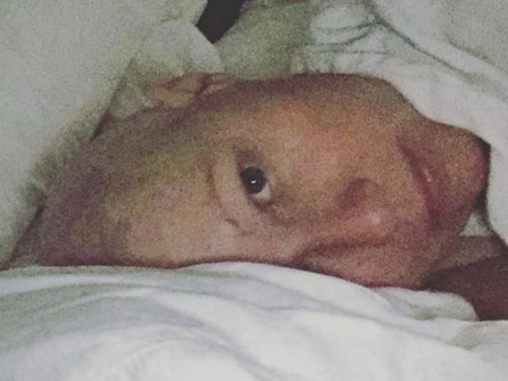 Shannen Doherty am Ende ihrer Chemotherapie im Herbst 2016