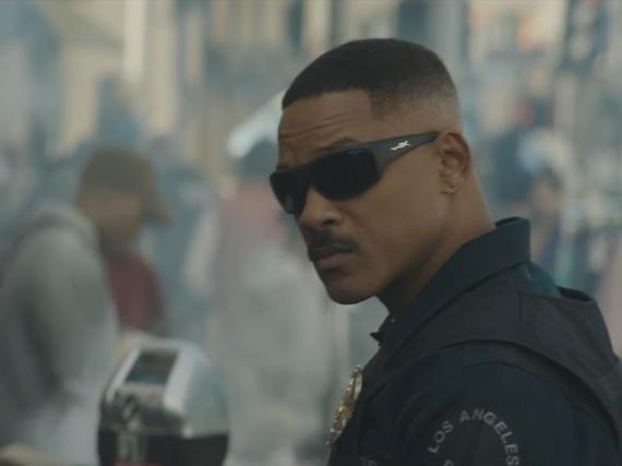 Will Smith als Cop in der fiktiven Welt von