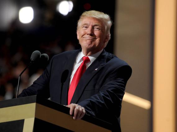 Donald Trump war zwar nicht bei der Oscar-Gala, kennt aber den Grund für die Panne