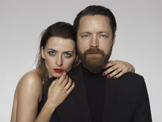 Eva Padberg und ihr Mann Niklas Worgt lieben es, gemeinsam Musik zu machen