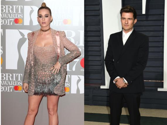 Nehmen sich eine Auszeit voneinander: Katy Perry und Orlando Bloom