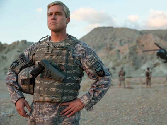 Hollywood-Star Brad Pitt in