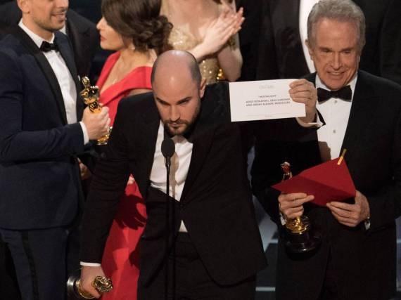 Der richtige Umschlag tauchte bei den Oscars dann doch noch auf