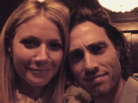 Gwyneth Paltrow scheint mit Brad Falchuk einen gemütlichen Abend verbracht zu haben