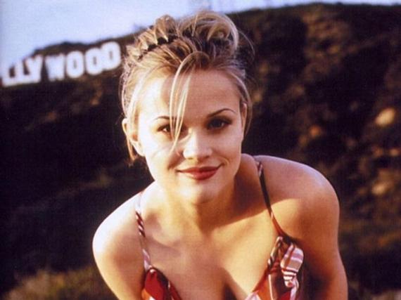 In den 90ern posierte Reese Witherspoon noch cool vor den Hollywood Hills