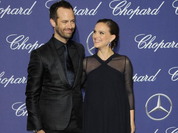 Benjamin Millipied und Natalie Portman Anfang Januar beim Palm Springs International Film Festival