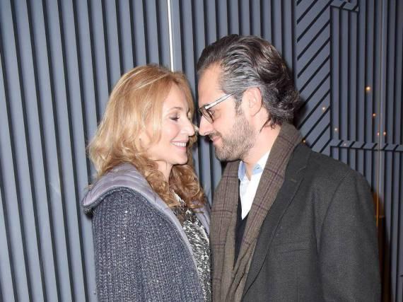 Caroline Beil und ihr Lebensgefährte Philipp Sattler